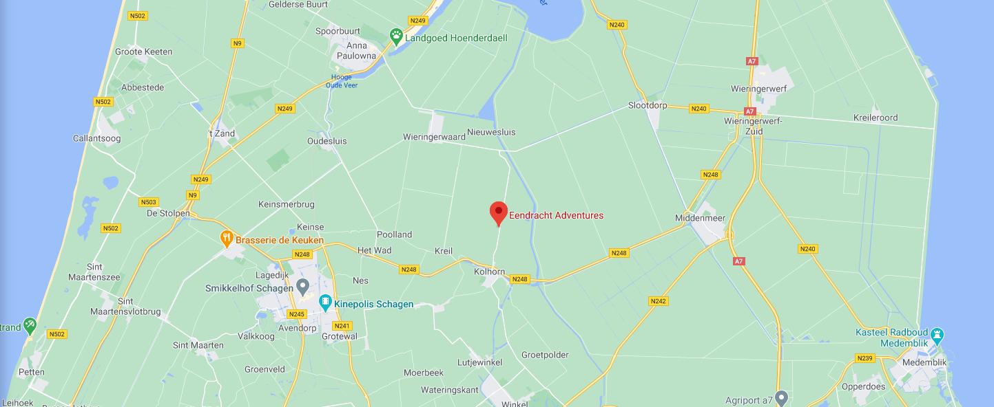 Ga naar Google Maps lokatie
